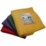 Jutová tkanina 211 g / m<sup>2</sup> - plachietky farebné