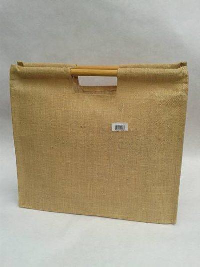 Jutová taška s rovnou rukoväťou