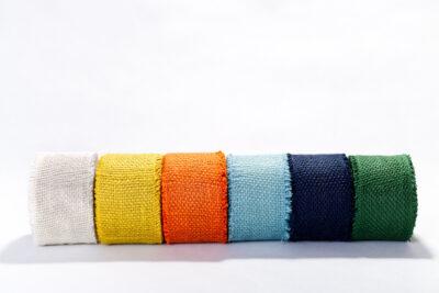 Dekoračné pásky - farebné (8 cm)