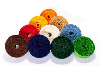 Dekoračné pásky - farebné (4 cm, 25 bm)