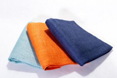 Jutová tkanina 211 g / m2 - plachietky farebné